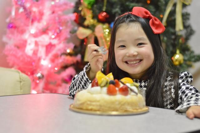 クリスマスケーキ,子供
