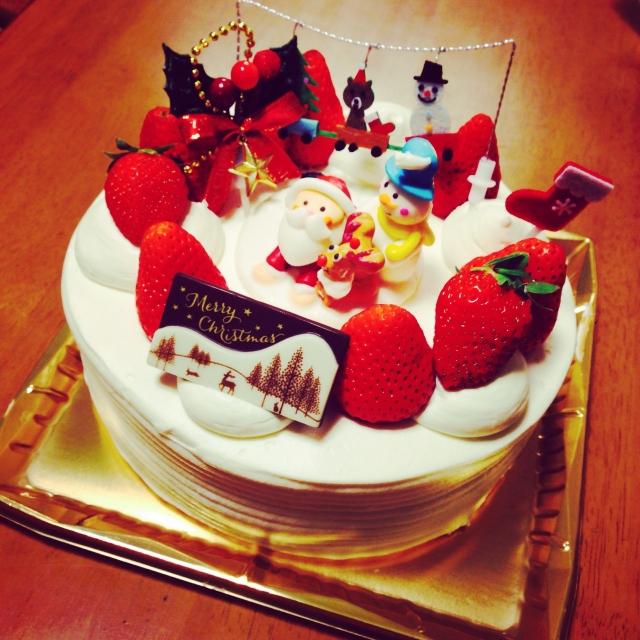 クリスマスケーキを手作り