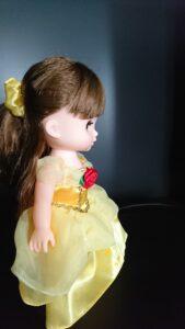 ソラン ベルのドレス 横向き1