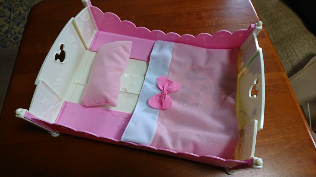 レミン&ソラン ベッドのお布団と枕