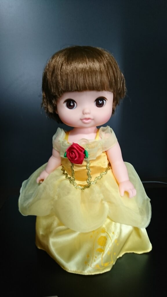 レミン ベルのドレス 前