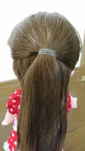 ソランちゃん 髪の毛 後ろ
