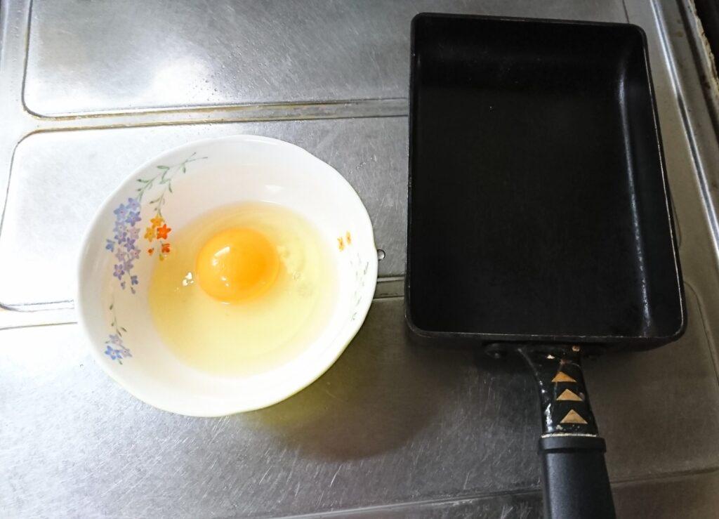 恵方巻きの子供や幼児向けレシピ 卵で巻けば安心♪