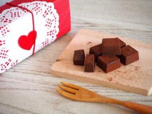 生チョコは生クリームなしの牛乳を使ってできる?