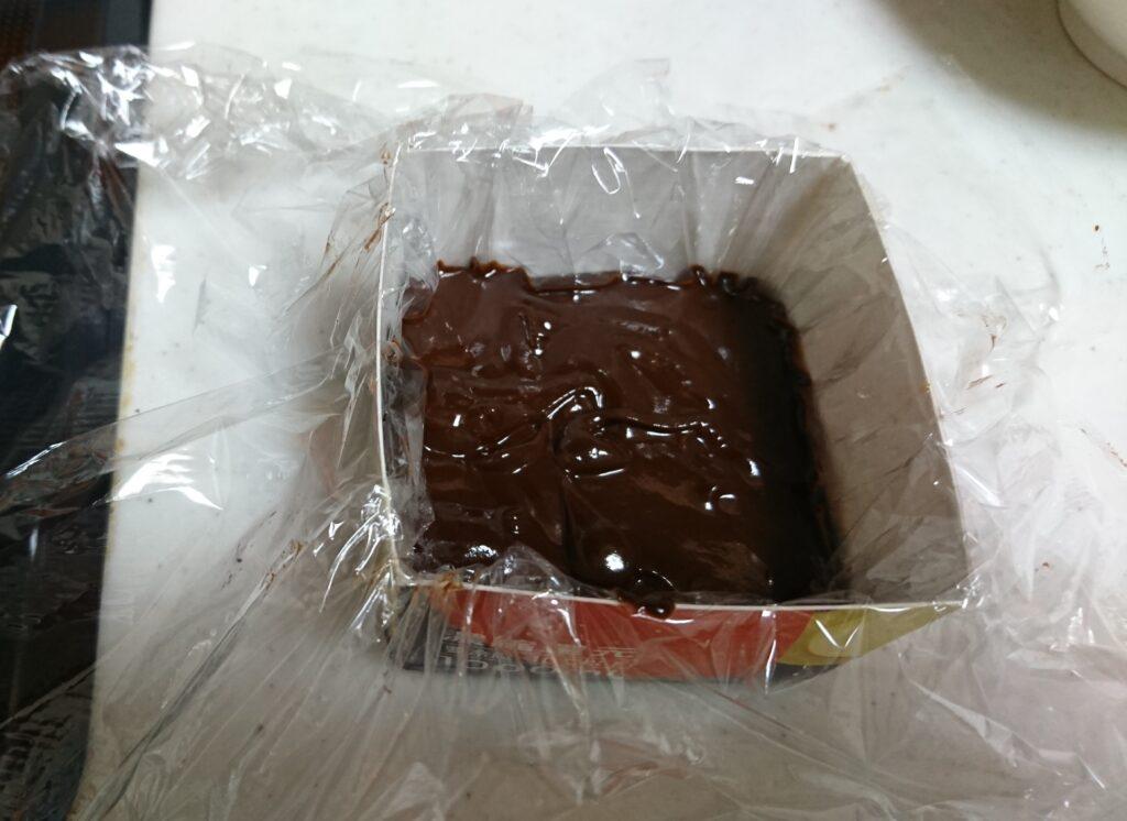 生チョコの型を代用