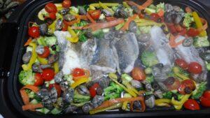 アクアパッツァ 野菜を入れるところ
