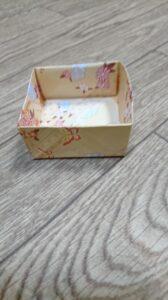 節分の箱の折り方 枡(ます)