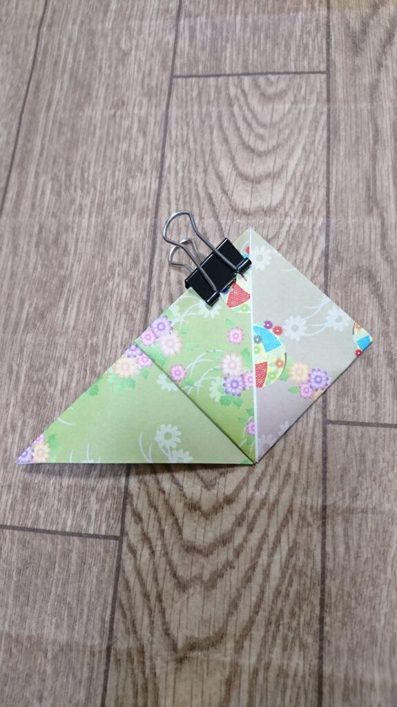 お月見の箱(三方)の折り紙の折り方