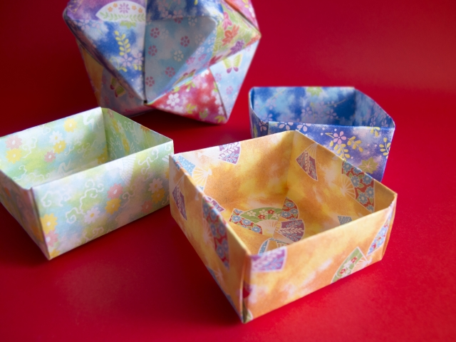 節分の折り紙で豆入れの箱は?ひな祭りや子どもの日 お月見にも