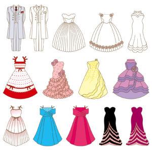 セミフォーマル(準礼装)の服装で女性ならどんなものがある?