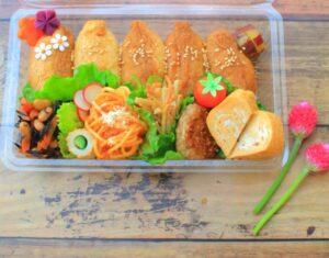 ピクニック弁当の主食の人気定番その3 いなりずし