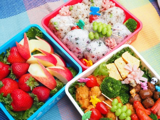 ピクニックのお弁当は前の日に作り置きしてもいい?保冷や保存の注意点は?