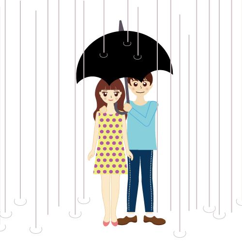 雨の日デート服装決定版!上着や足元対策は?お出かけコーデのおすすめ♪