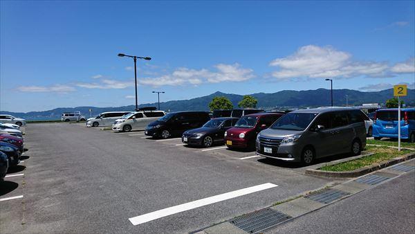 琵琶湖博物館の前の方