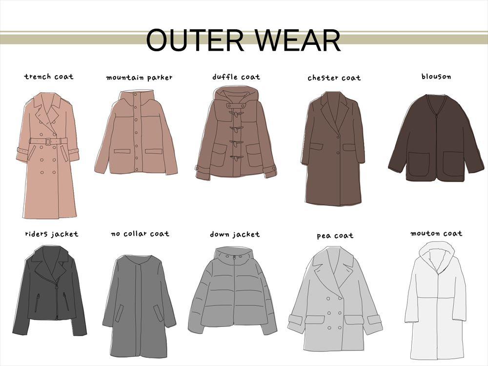 何にでも合うアウターやコートは?着回ししやすい色や選び方のコツは?