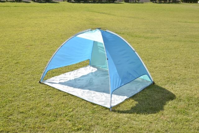 サンシェードテントとテントの違いは?日除け用で宿泊やキャンプはできる?