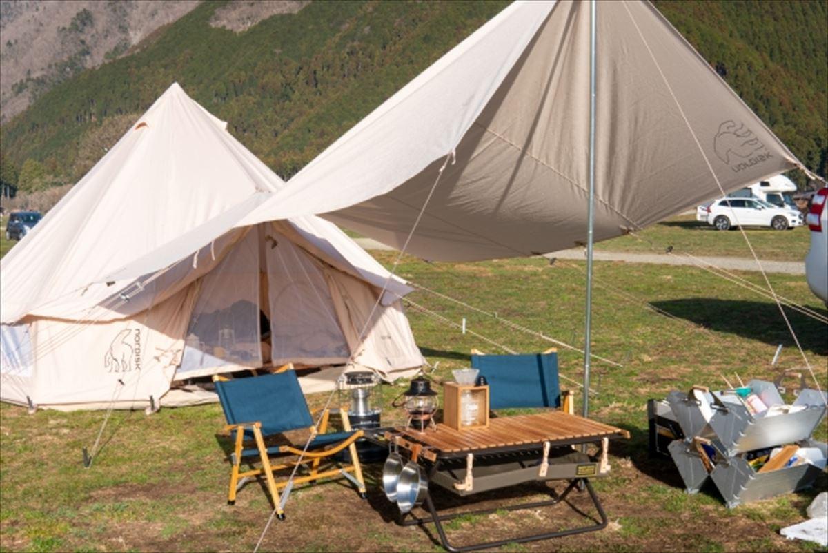 テント(キャンプ泊用テント)とは?その特徴や使い方は?