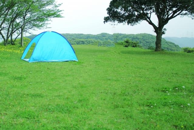 サンシェードテントとテントの違いは?